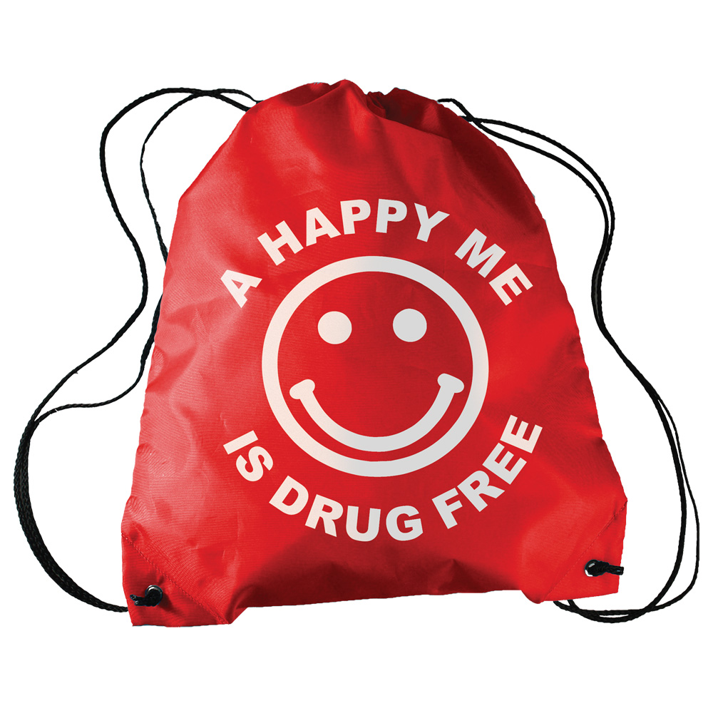 A Happy Me Is Drug Free Sling A Long Bag