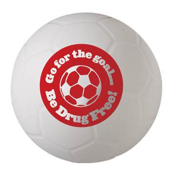 Go for the Goal...Be Drug Free! (10 Pack) Mini Soccer Ball