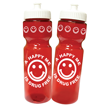 A Happy Me Is Drug Free Water Bottle